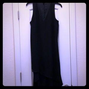 Black High Low Maxi Dress